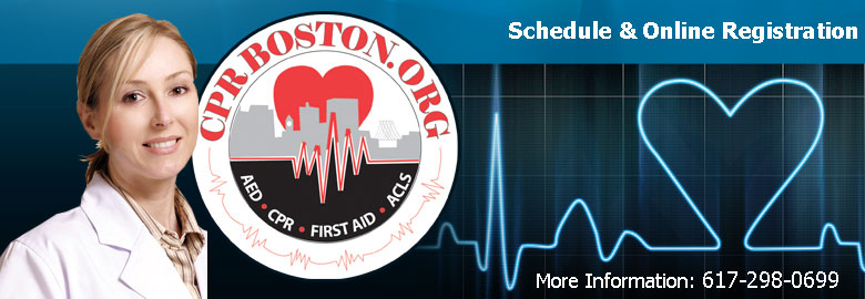 CPR, and First Aid courses in Boston